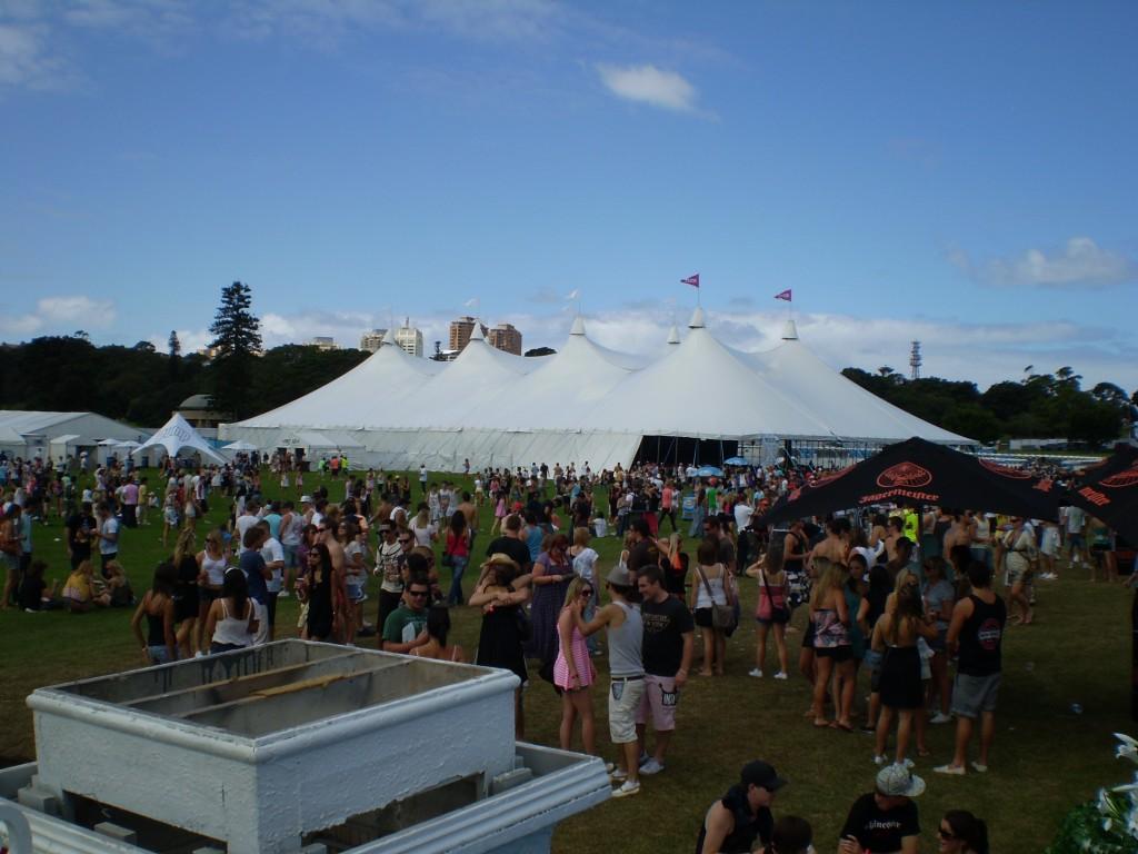 Concert Event Tent